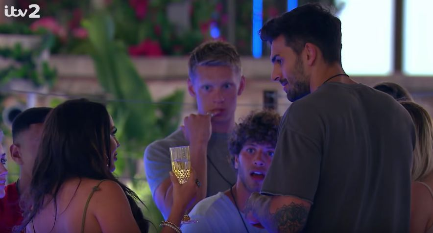 Niall Aslam leaves Love Island for 'personal reasons'
