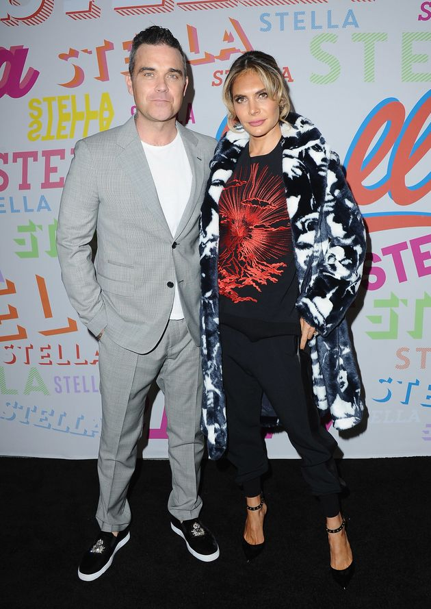 Robbie Williams and Ayda
