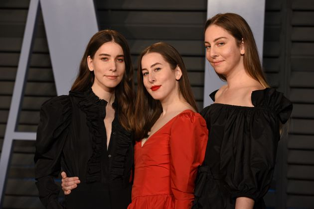 Haim at an Oscars after-party in