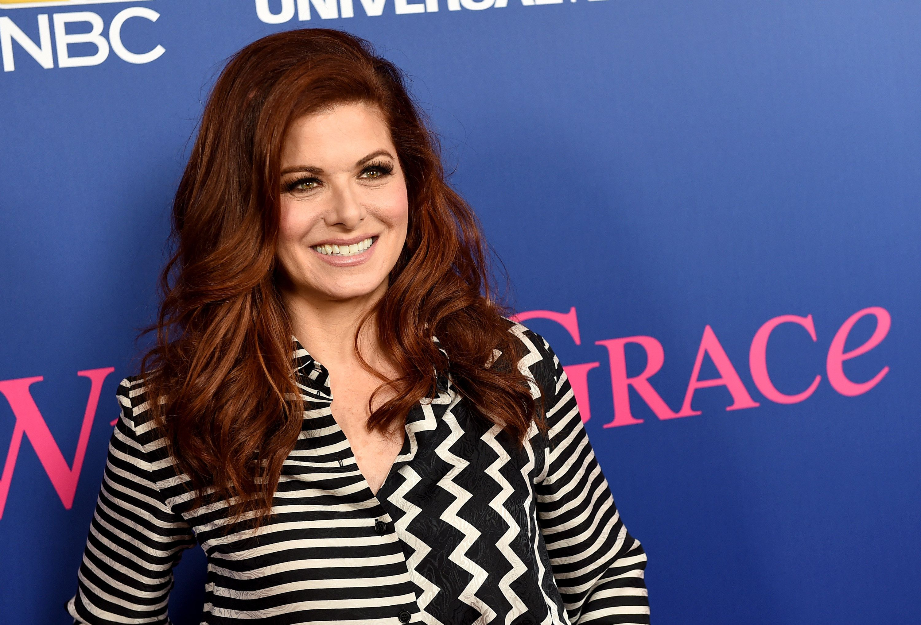Debra messing boob