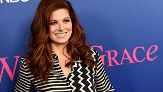 LOS ANGELES, CA - JUNE 09:  Actress Debra Messing arrives at NBC's 'Will & Grace' FYC Event at the Harmony Gold Theatre on June 9, 2018 in Los Angeles, California.  (Photo by Kevin Winter/Getty Images)