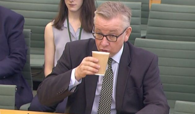 Michael Gove Sips From Disposable Cup Despite Declaring War On Single-Use Plastics