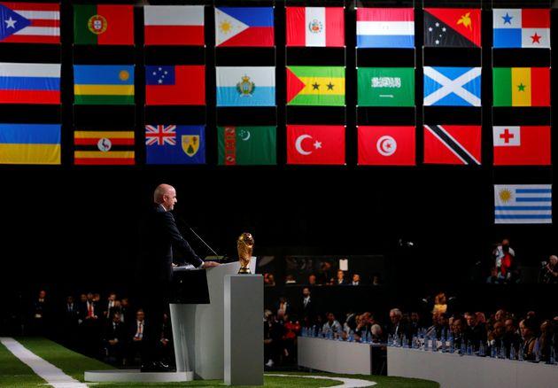 L'organisation de la coupe du monde 2026 attribuée au trio