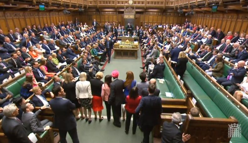 SNP MPs walk out of PMQs in protest over Brexit debate