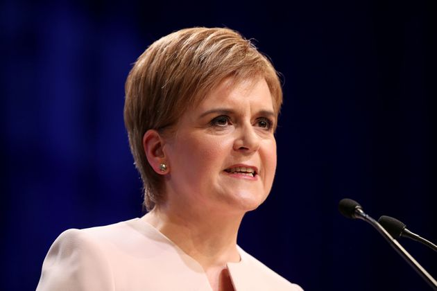 First Minister Nicola Sturgeon has backed the party's Westminster leader over his challenge of the