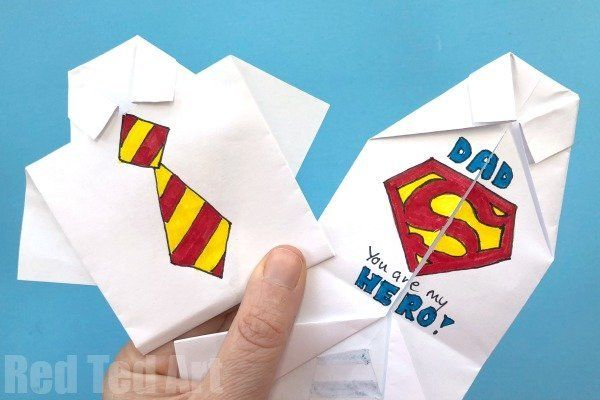Adorable Handmade Father's Day Cards You Can Make With Kids Of All