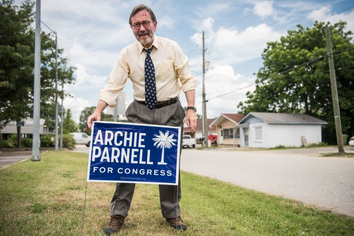 South Carolina Democrat Archie Parnell in 2017, when he unsuccessfully ran for a House seat in a special election. He is