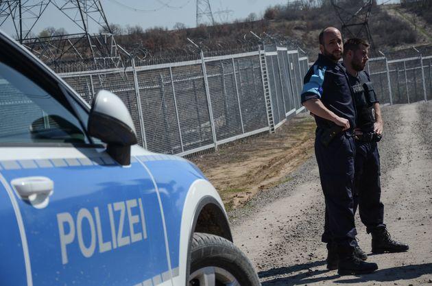 Beamte der Bundespolizei bei einem Einsatz an der bulgarisch-türkischen Grenze 2017.