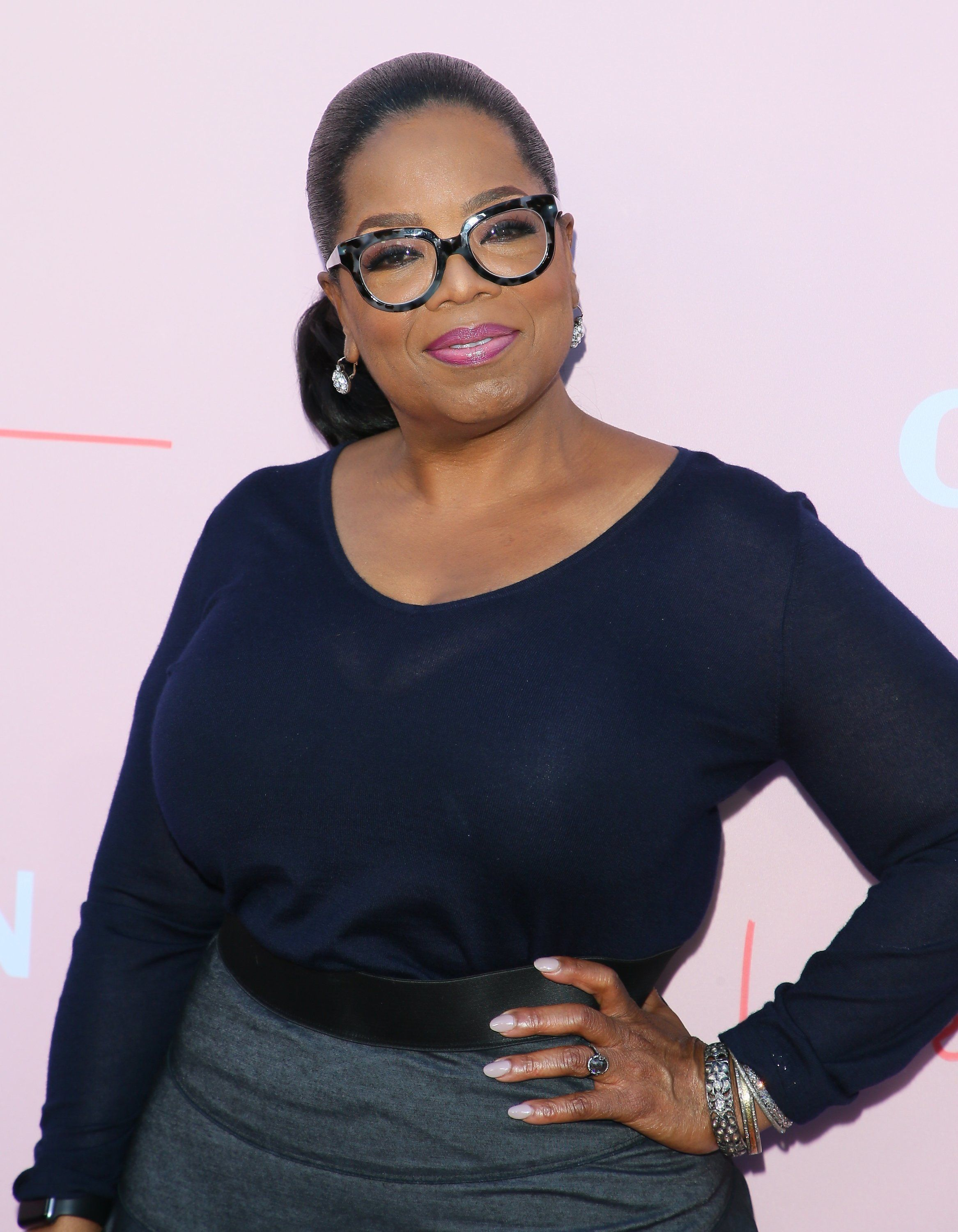 LOS ANGELES, CA - JUNE 11: Oprah Winfrey  attends the Los Angeles premiere of OWN's 'Love Is_' held at NeueHouse Hollywood on June 11, 2018 in Los Angeles, California.  (Photo by JB Lacroix/WireImage)