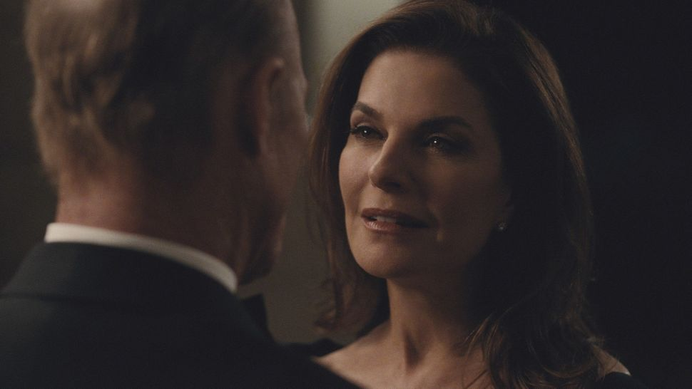 "Ed Harris and Sela Ward in ""Westworld"" Season 2, Episode 9, ""Vanishing Point."""