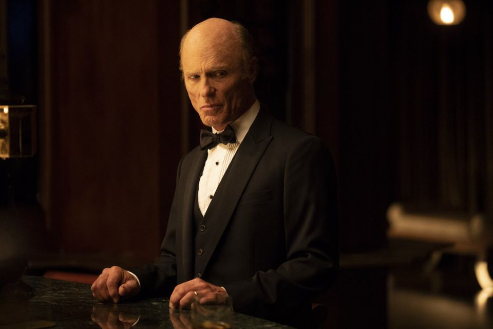 Ed Harris as the Man in Black on