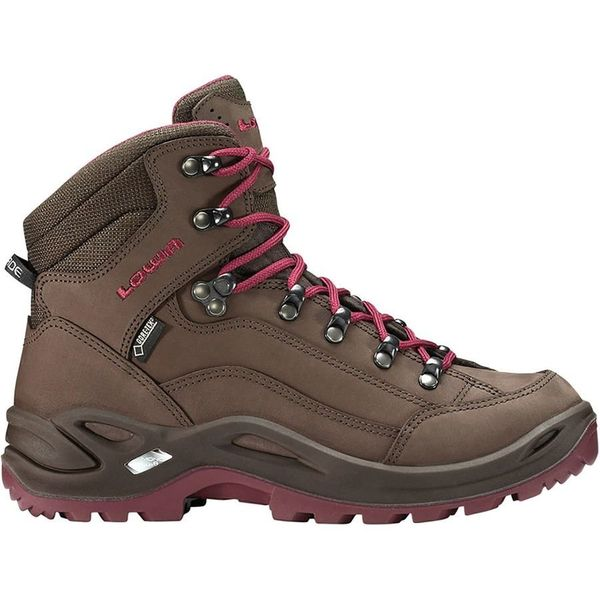 """Get it at <a href=""""https://www.backcountry.com/lowa-renegade-gtx-mid-hiking-boot-womens?skid=LOW0119-ESP-S95&ti=U2VhcmNoI"""