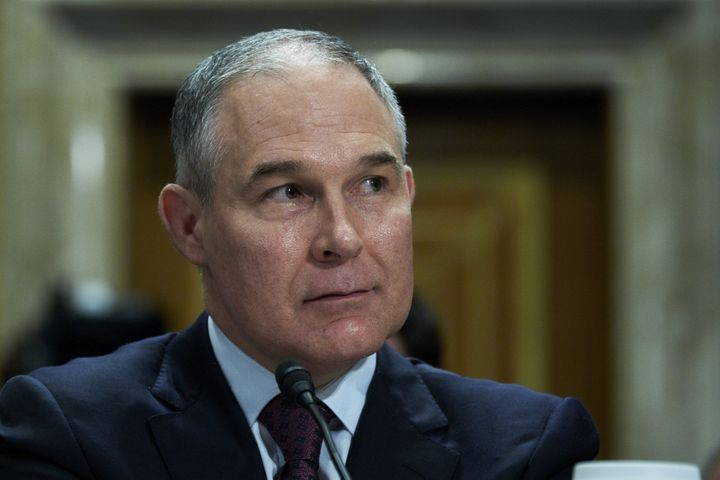 EPA Administrator Scott Pruitt proposed a new water rule amid a firestorm of scandals.