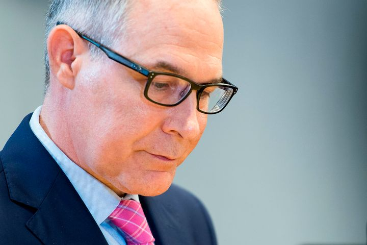 EPA Administrator Scott Pruitt at a meeting earlier this month.