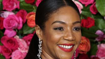 NEW YORK, NY - JUNE 10:  Tiffany Haddish attends the 72nd Annual Tony Awards on June 10, 2018 at Radio City Music Hall  in New York City.  (Photo by Walter McBride/WireImage)