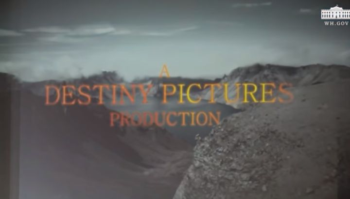 The video shown to Kim Jong Un on Tuesday was credited to Destiny Pictures.
