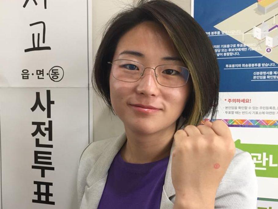 정의당 앞지르며 파란 일으킨 '페미니스트 후보'가 전한 입장
