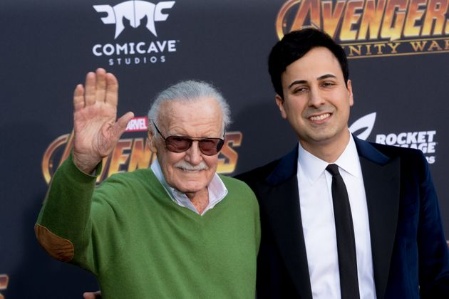 Morgan attended the 'Avengers: Infinity War' world premiere with Lee on 23 April