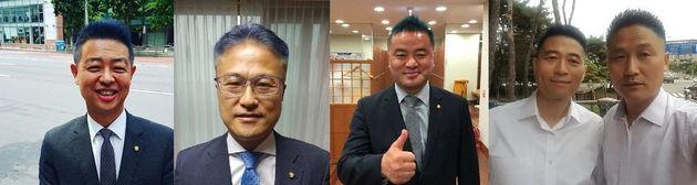 왼쪽부터 김영호·김정우·임종성·김민기·김영진 의원 페이스북