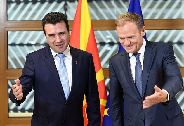 Δύο βαλκανικές χώρες στη μέση του