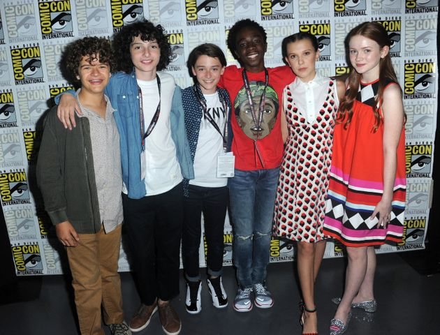 The teens of 'Stranger Things' at Comic-Con last