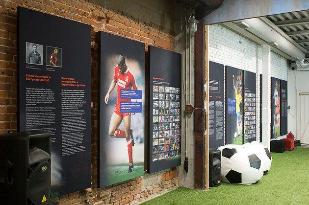 La Maison de la Diversité, à Moscou, aux couleurs de la Coupe du