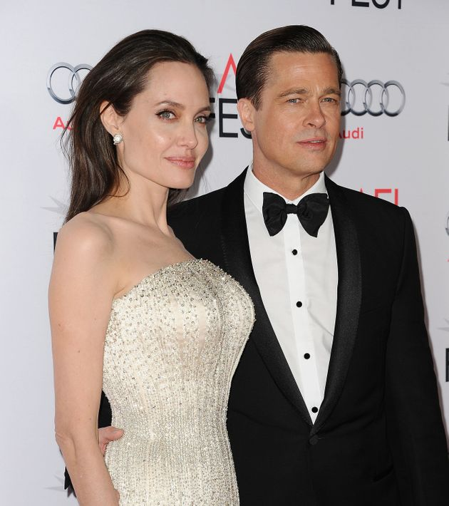 Angelina and Brad in their final public appearance as a couple in
