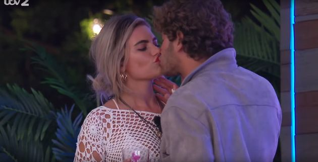 Eyal and Megan have coupled up on 'Love Island' - despite Dr Alex also liking