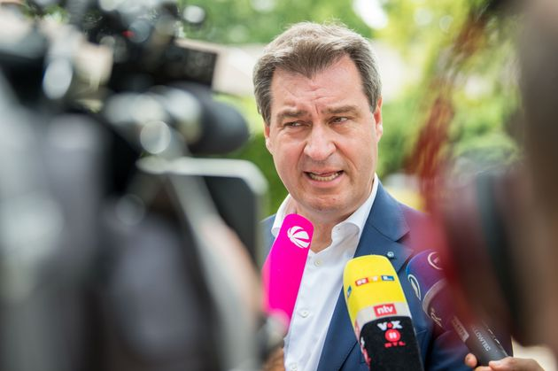 Markus Söder geht für die Bayern-Wahl auf Konfrontationskurs mit