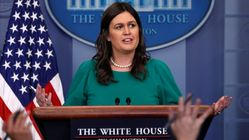 White House Press Secretary Sarah Huckabee Sanders Is