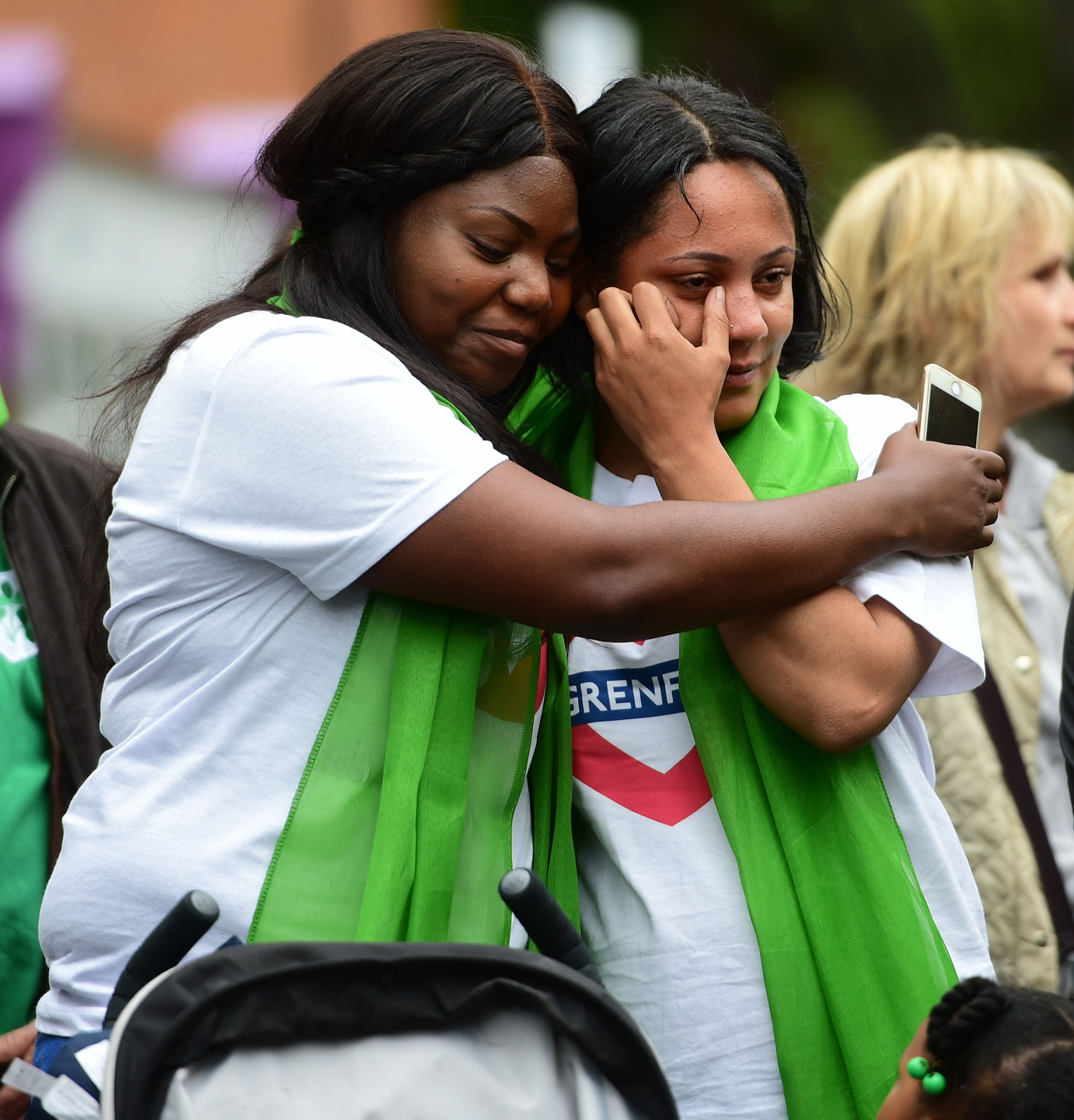 Hugs, Tears And Gospel: How The Community Paid Tribute To Grenfell One Year