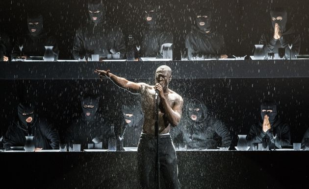 Stormzy at the 2018 Brit