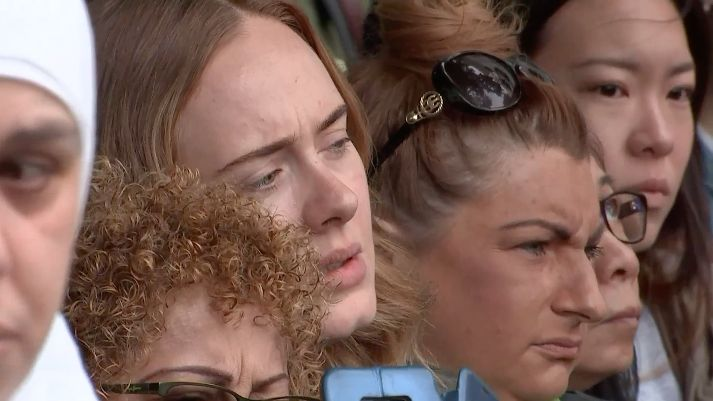 Adele And Stormzy Attend Grenfell Tower Memorial
