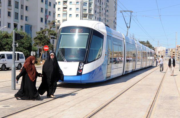 Tramway d'Alger: horaires spéciaux les deux jours de Aïd El