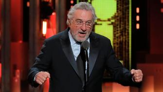 72nd Annual Tony Awards - Show - New York, U.S., 10/06/2018 - Actor Robert De Niro speaks before introducing Bruce Springsteen's performance. REUTERS/Lucas Jackson