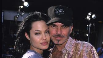 Angelina Jolie and Billy Bob Thornton during 'Gone in 60 Seconds' Los Angeles Premiere at National Theater in Westwood, California, United States. (Photo by S. Granitz/WireImage)
