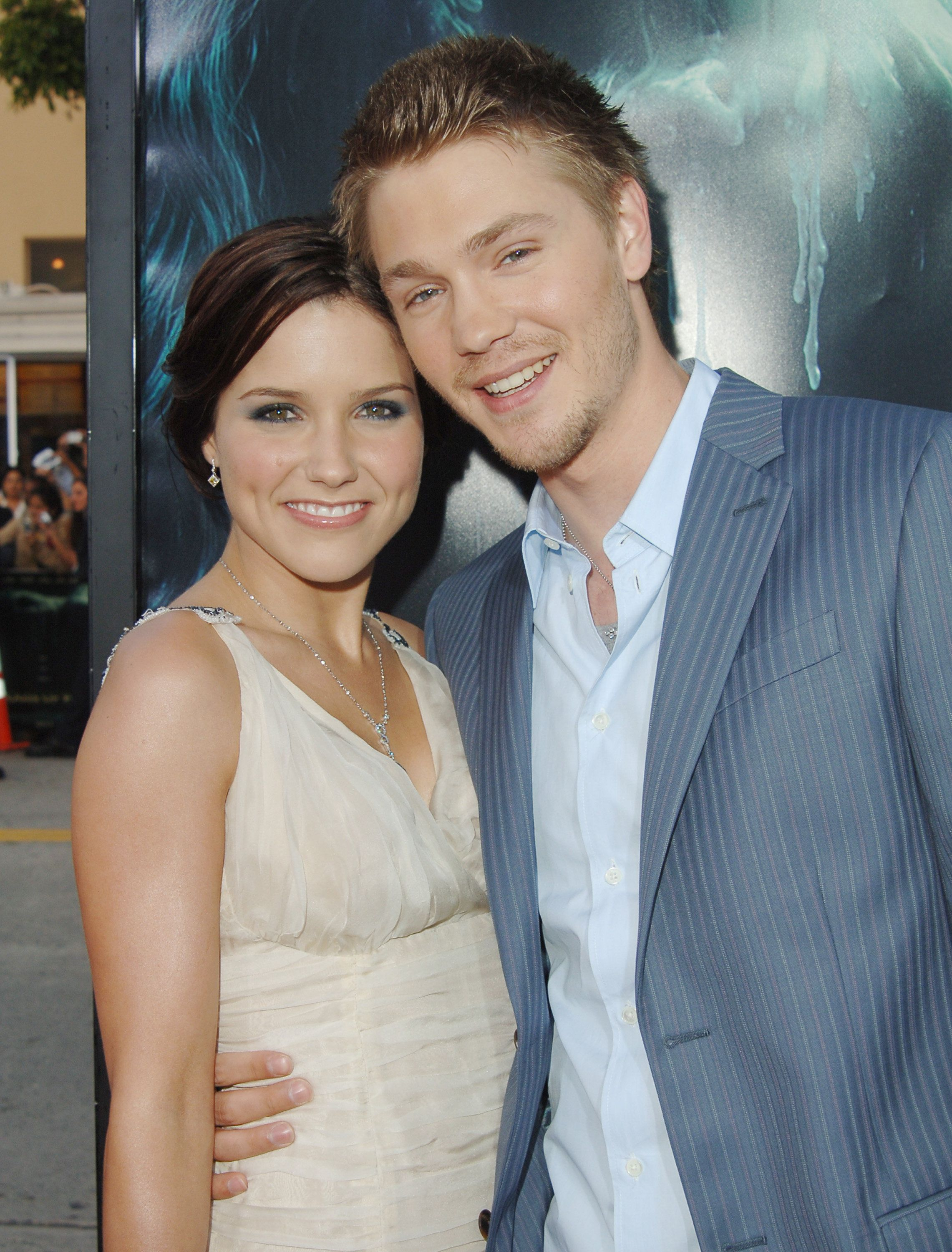 Sophia Bush and husband Chad Michael Murray during 'House of Wax' Los Angeles Premiere - Outside Arrivals at Mann Village Theater in Westwood, California, United States. (Photo by Jon Kopaloff/FilmMagic)
