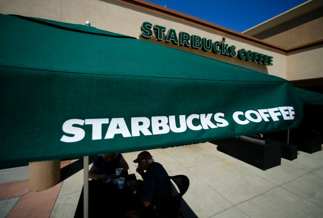 A Starbucks location in Fountain Valley,
