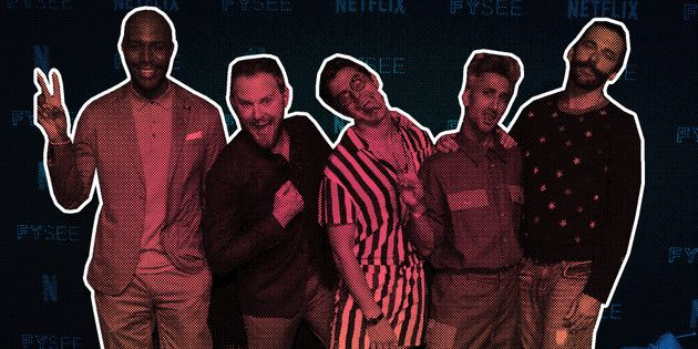 Como eram os astros de 'Queer Eye' antes de virarem os 'Fab