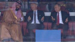 Coupe du Monde 2018: cette photo de Vladimir Poutine et du cheikh Mohammed ben Salmane vaut le