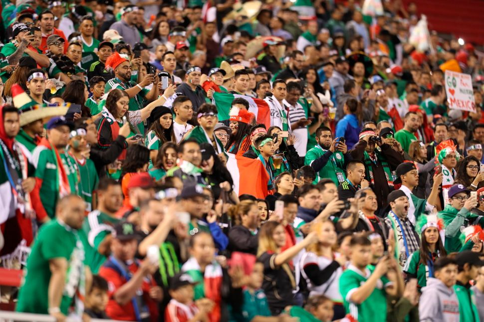 More than 30,000 fans attended a match between Mexico and Iceland in Las Vegas in 2017. It was a small crowd by Mexico's stan