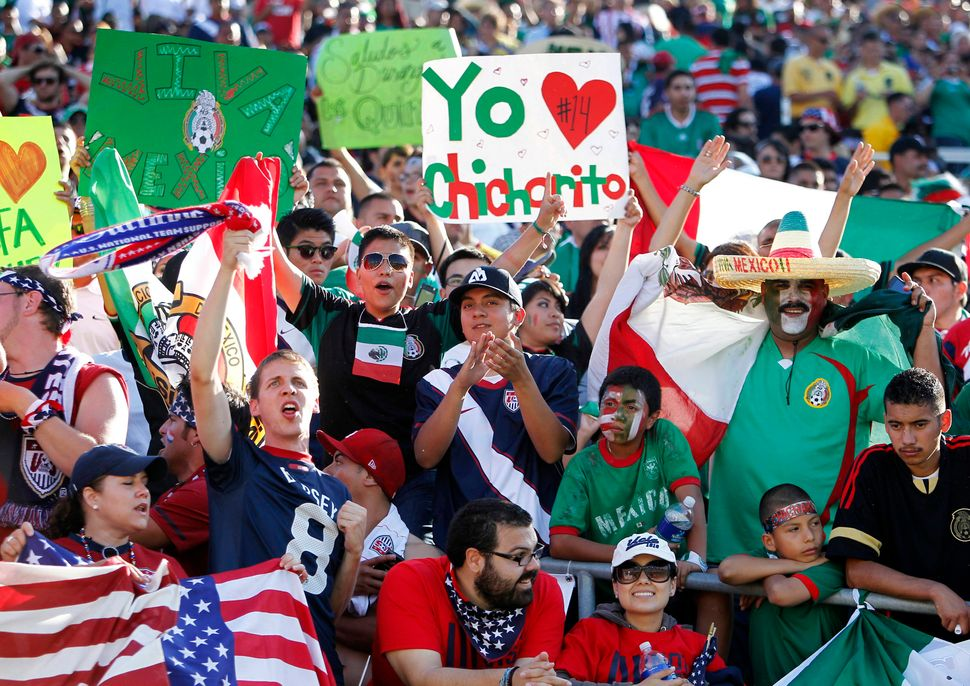 Mexico fans flocked to the Gold Cup final in 2011 -- El Tri's win over the United States in that match inspired Sergio Trista