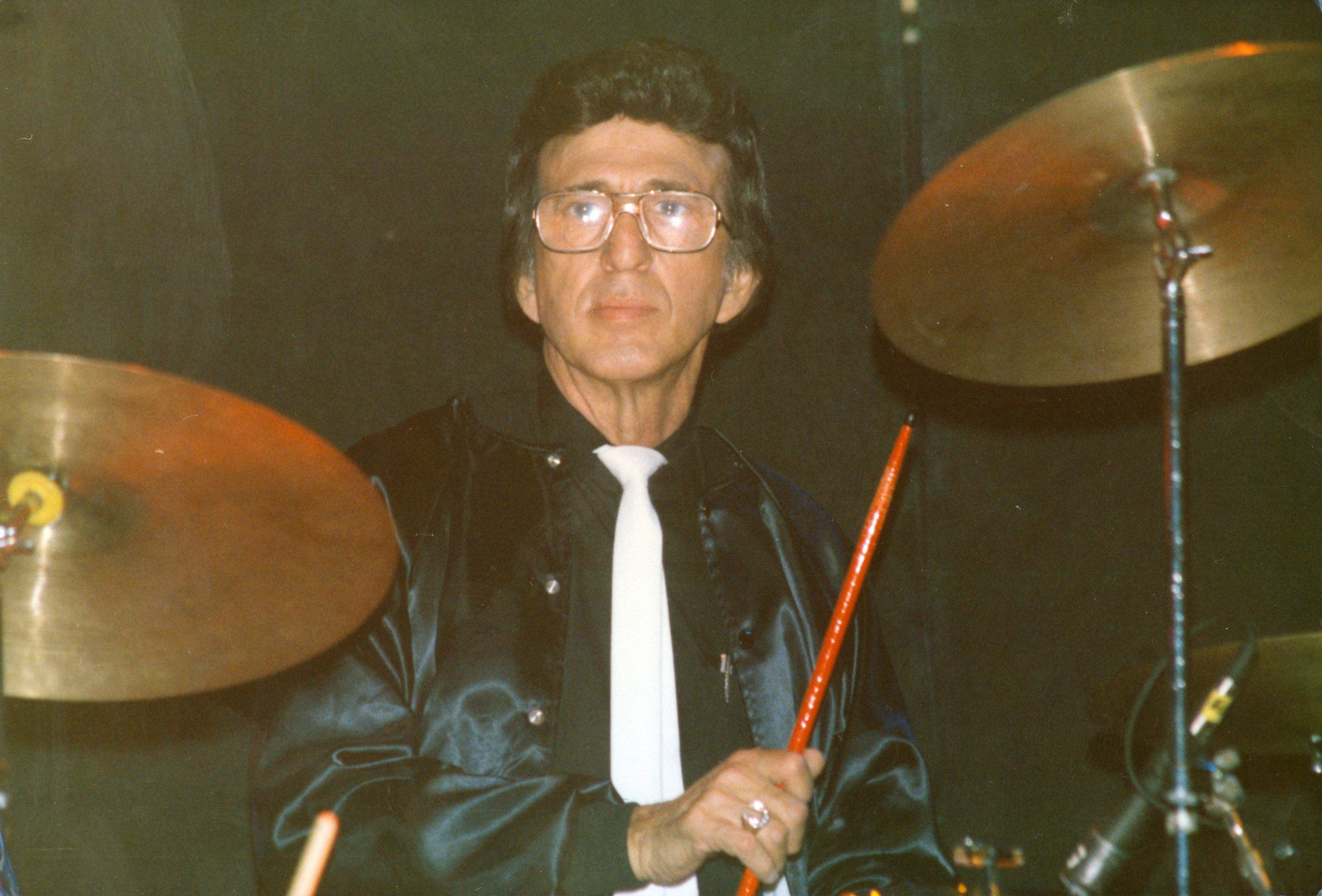 D.J. Fontana in London in 1988.
