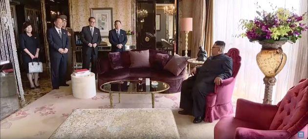 북한이 북미정상회담을 40분짜리 기록영화로