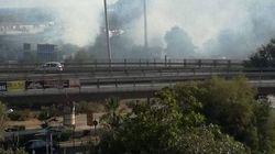 ΦΩΤΟ: Πέντε αστυνομικοί τραυματίστηκαν μετά από τις σφοδρές επιθέσεις στο