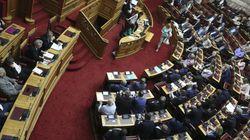 Σκληρή αντιπαράθεση στη Βουλή λόγω της συμφωνίας για την ονομασία της