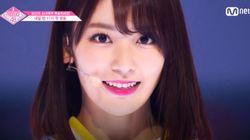 '프로듀스48' 미야와키 사쿠라가 AKB48 총선거에서 3위에