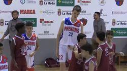 12살인데 키가 213cm인 농구선수는 농구가 너무