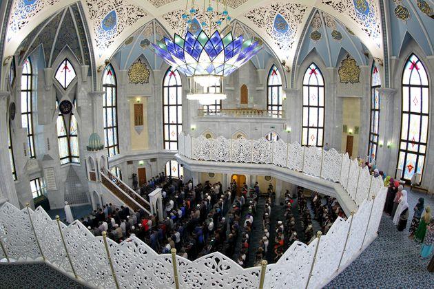 La prière de l'Aïd à Kazan en