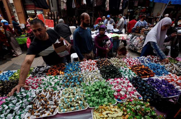 L'Aïd à Naplouse en Palestine